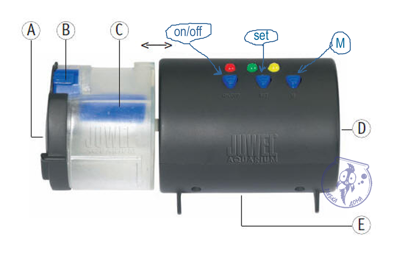 Инструкция для кормушка для рыб автоматическая